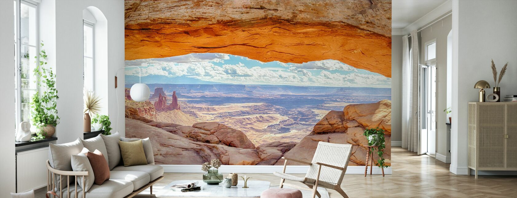 Mesa Arch auringonnousussa - Tapetti - Olohuone