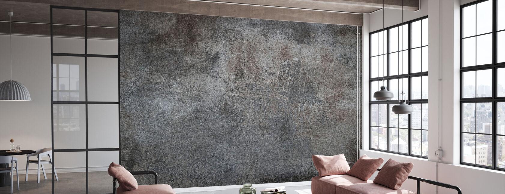 Grunge Metal Texture - Wallpaper - Office