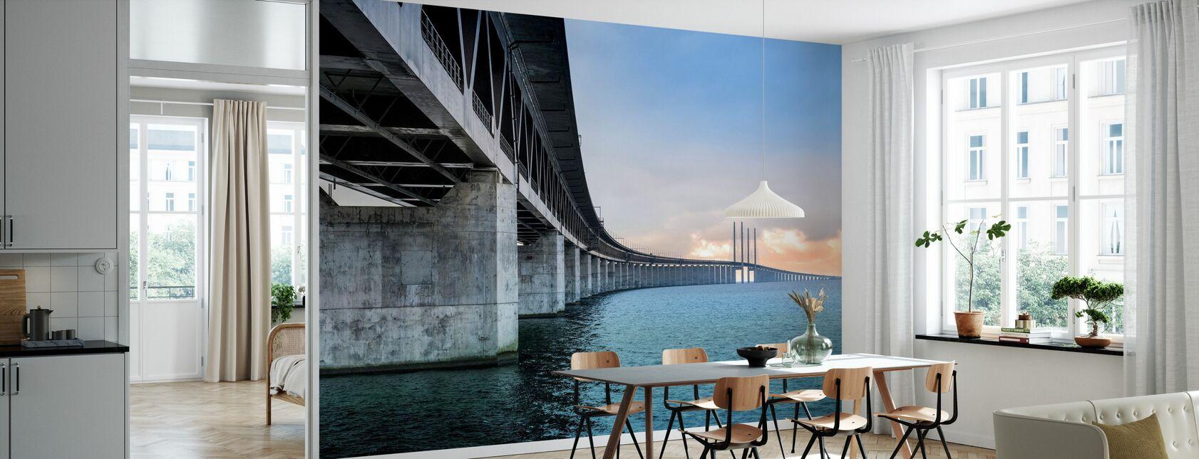 Øresundsbroen - Tapet - Køkken