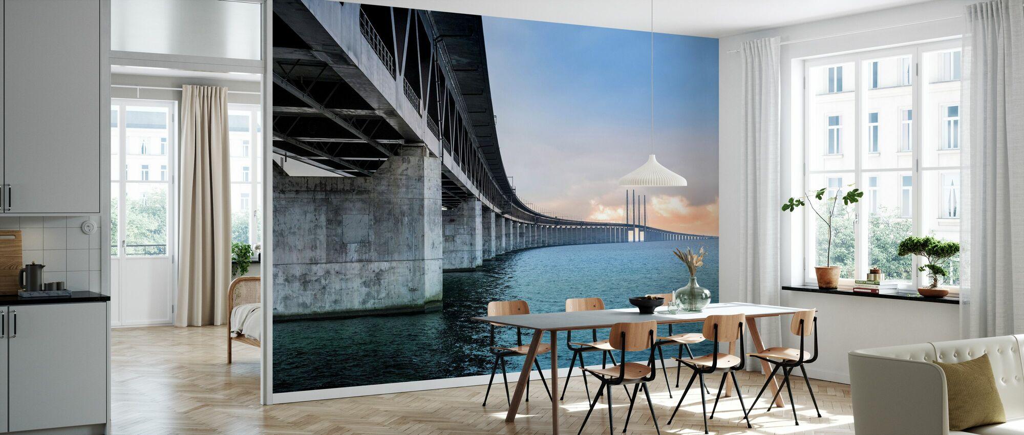 Oresund Bridge - Wallpaper - Kitchen