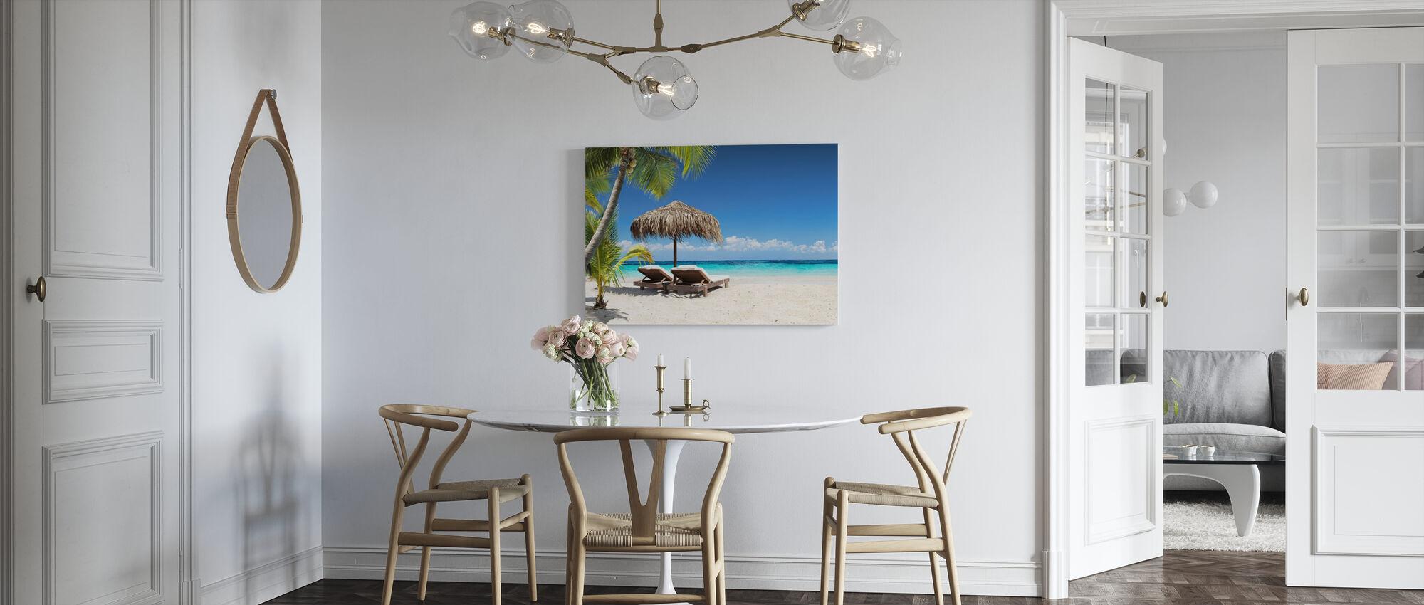 Coral Beach - Canvas print - Kitchen
