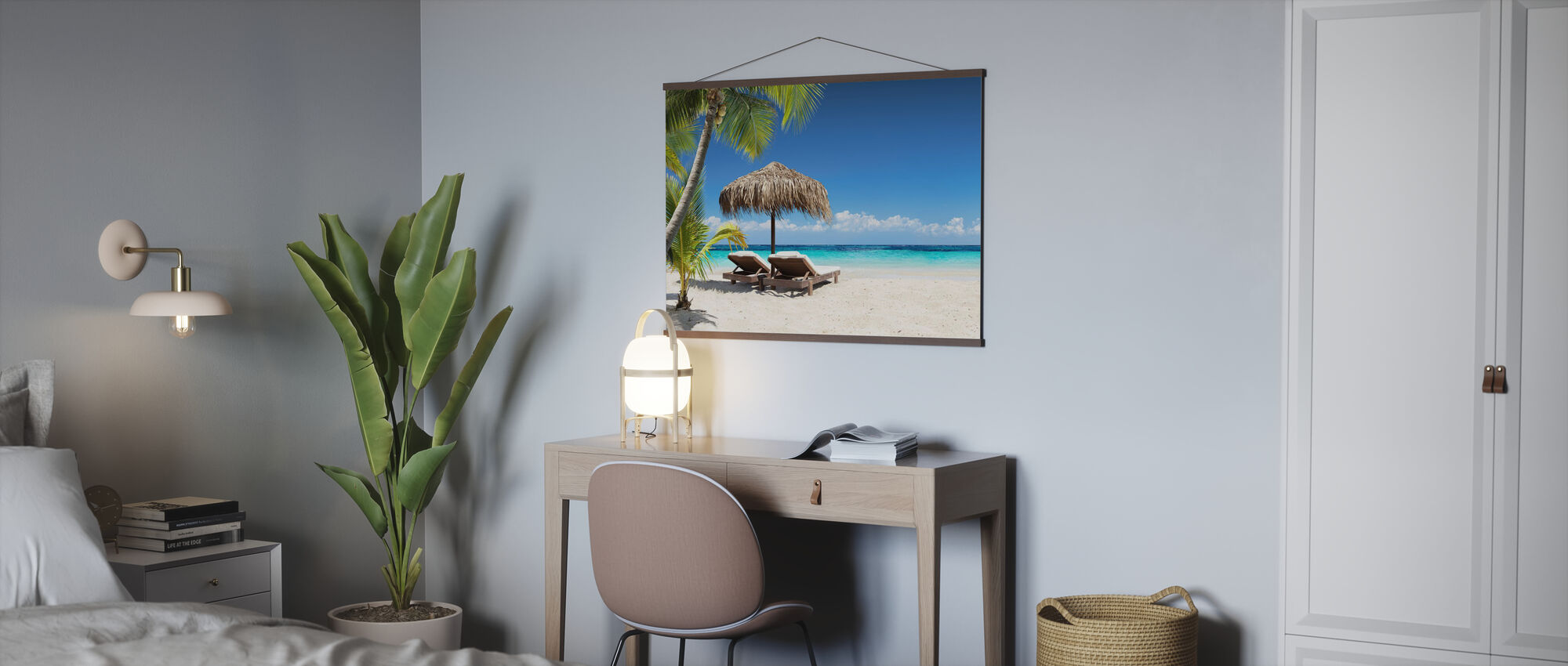 Coral Beach - Poster - Office