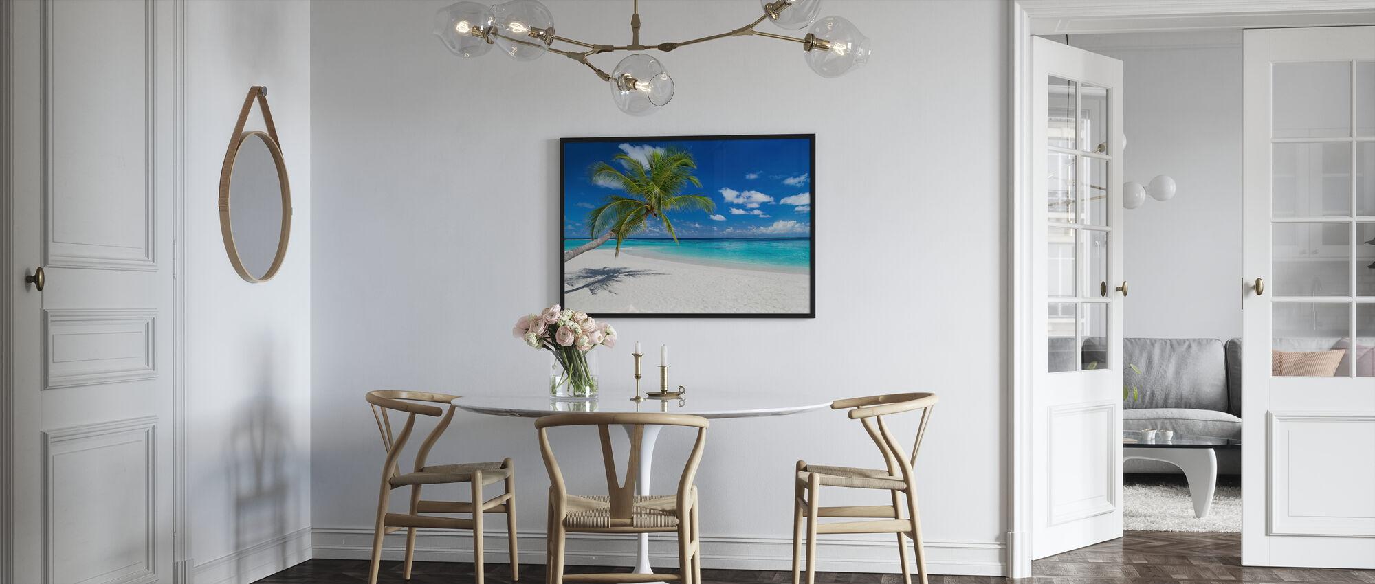 Tropical Beach - Framed print - Kitchen