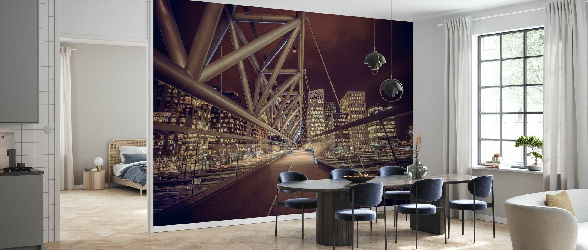 Pedestrian Bridge in Oslo - Wallpaper - Kitchen