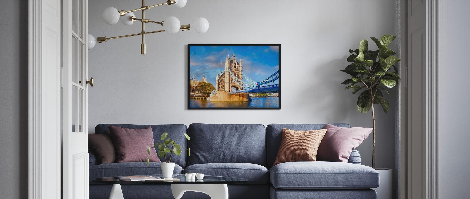 London og Tower bridge - Plakat - Stue