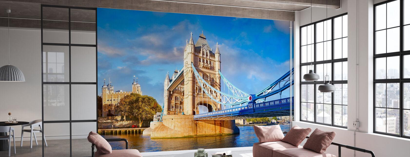 London und Tower Bridge - Tapete - Büro