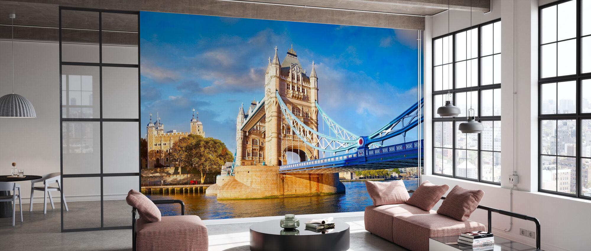 London og Tower bridge - Tapet - Kontor