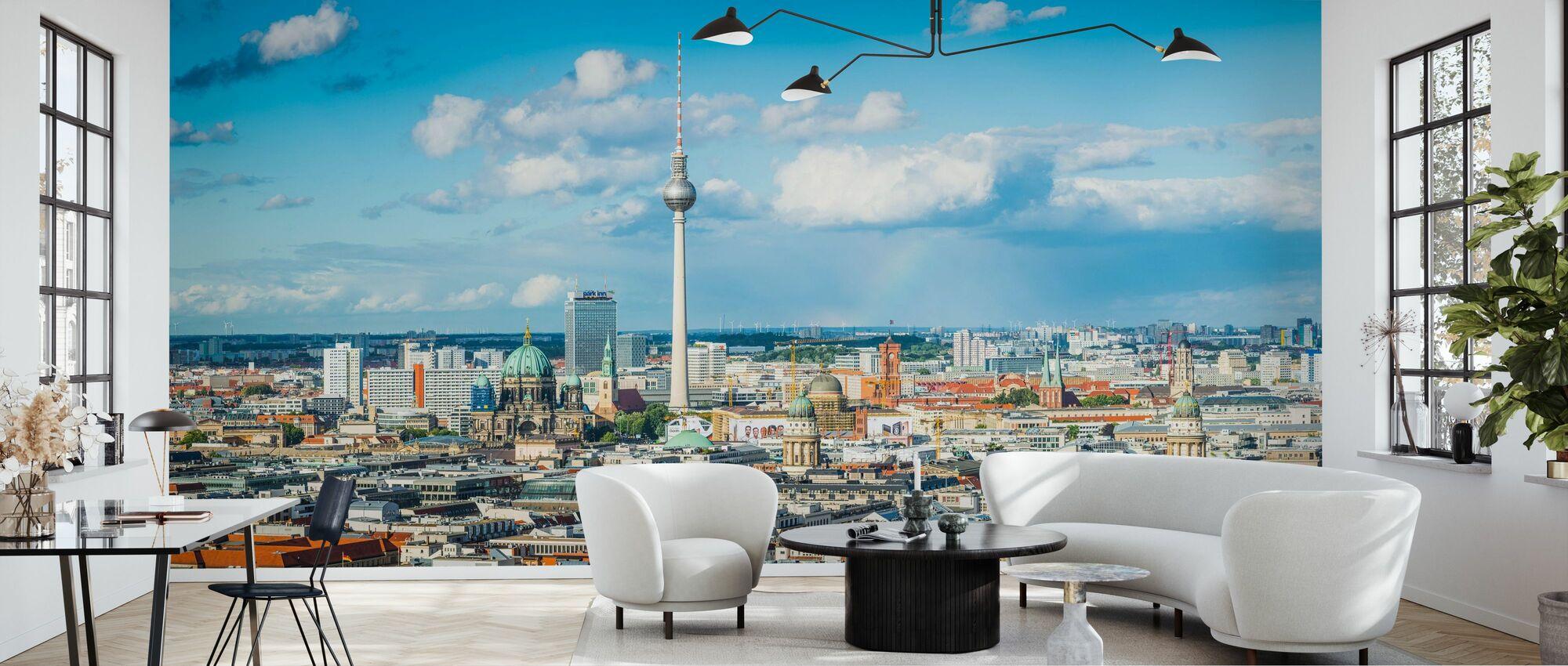Berlin Panorama - Tapete - Wohnzimmer