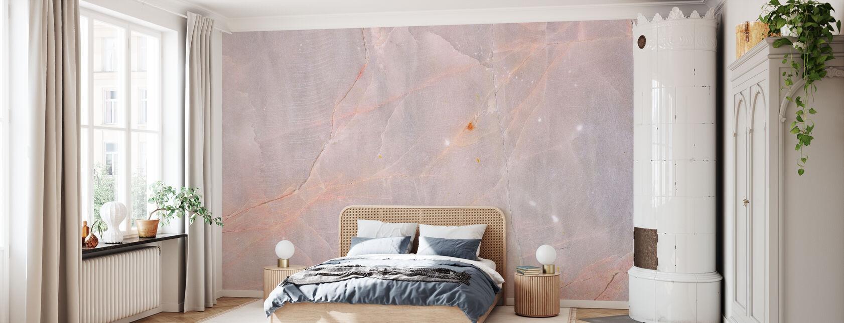 Pink Granite - Wallpaper - Bedroom