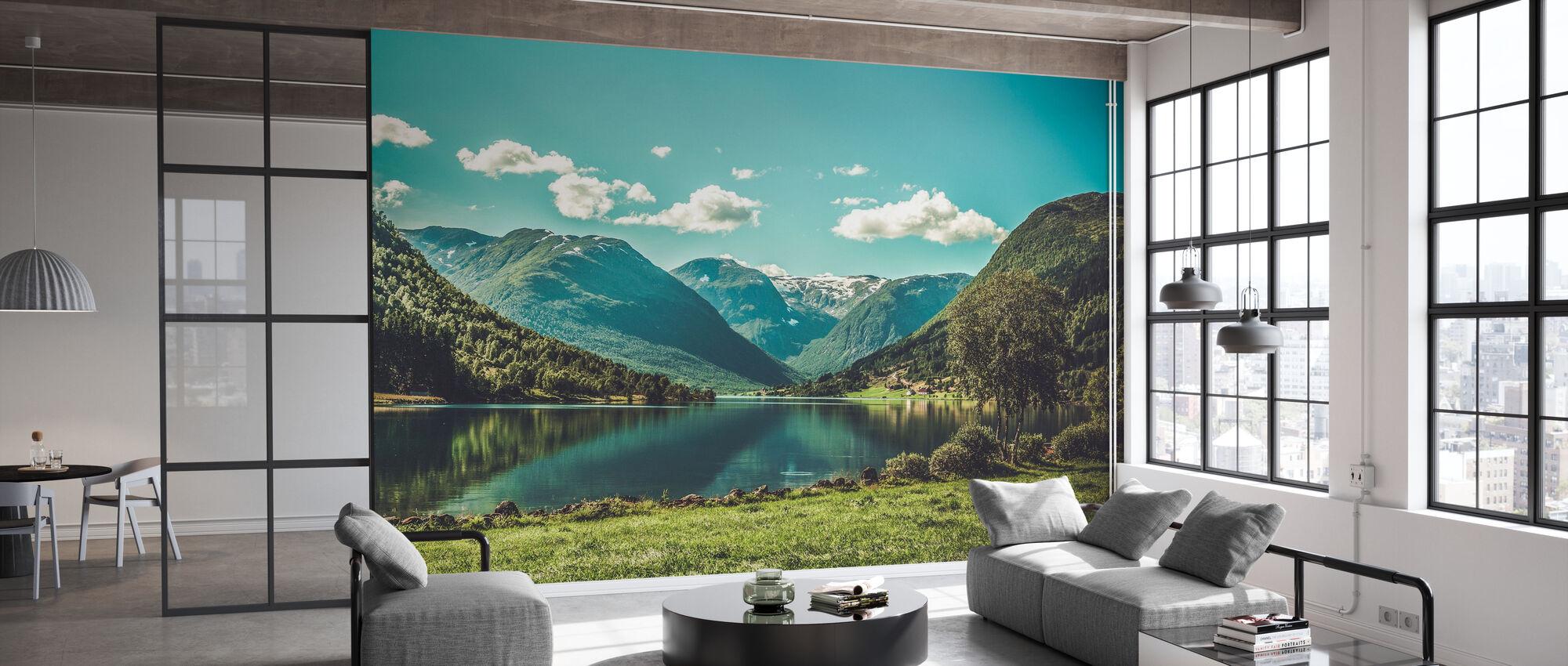 Landscape of Norway - Wallpaper - Office
