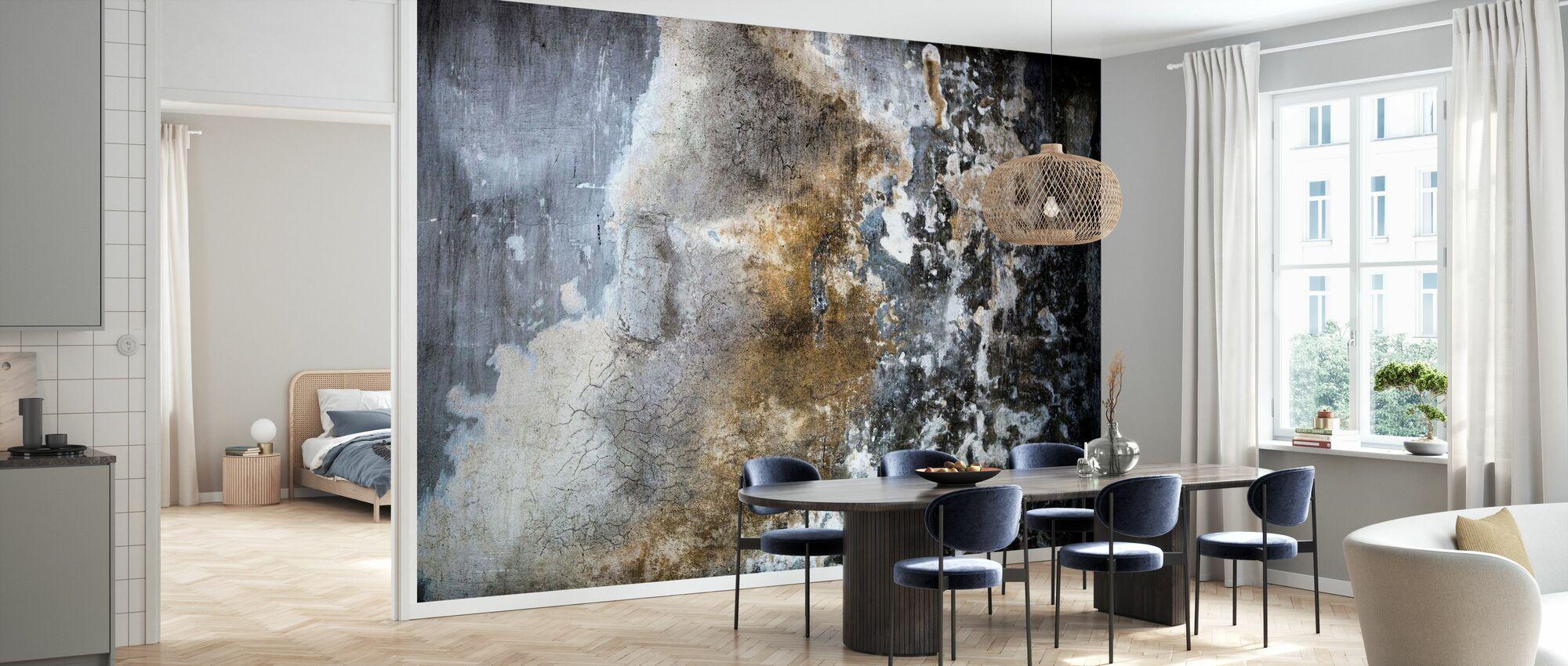 Grunge Wall - Wallpaper - Kitchen