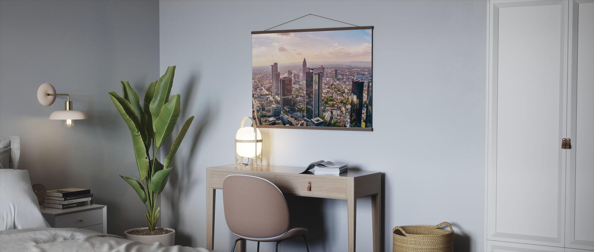 Frankfurter Skyline - Poster - Büro