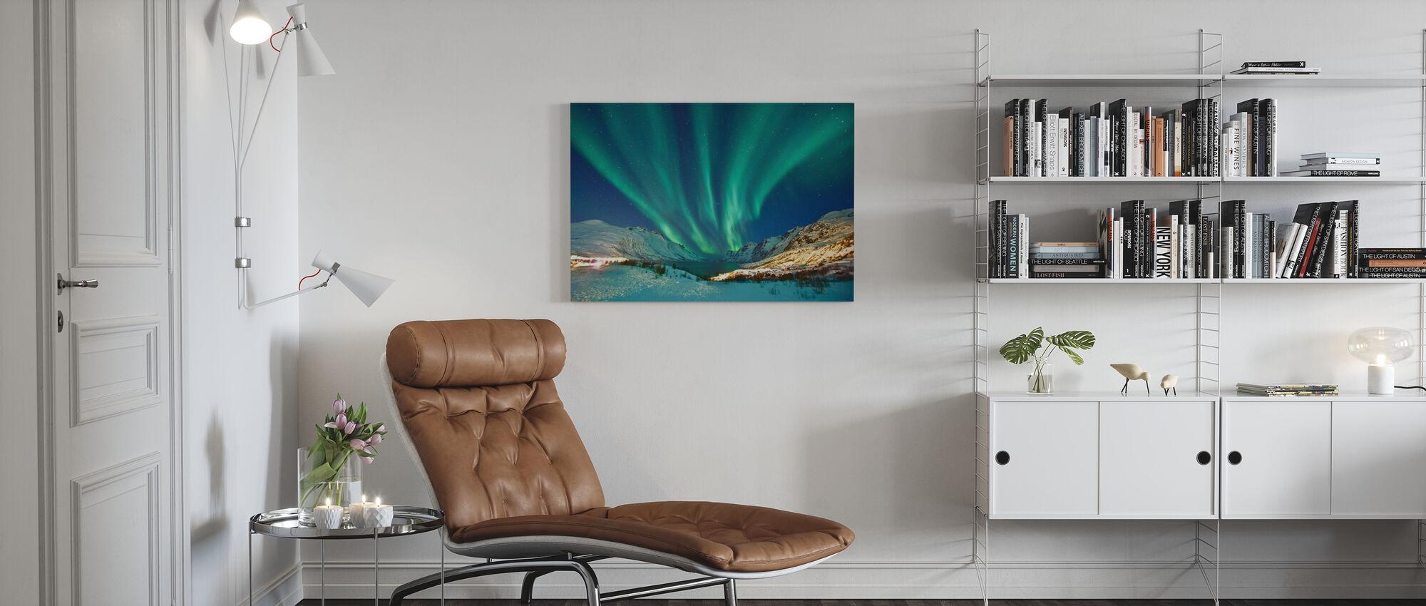 Aurora Borealis - Canvastavla - Vardagsrum