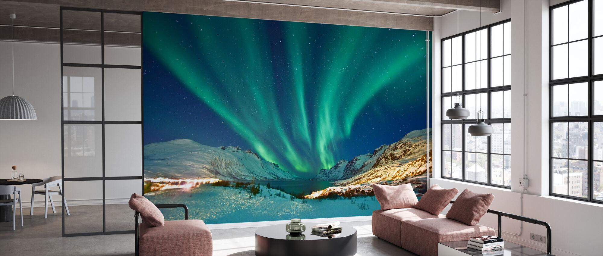 Aurora Borealis - Tapetti - Toimisto