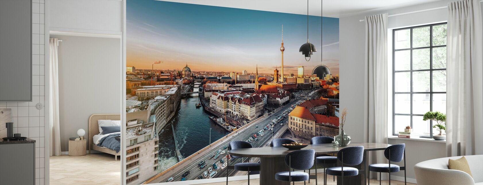 Berliner Stadtbild - Tapete - Küchen