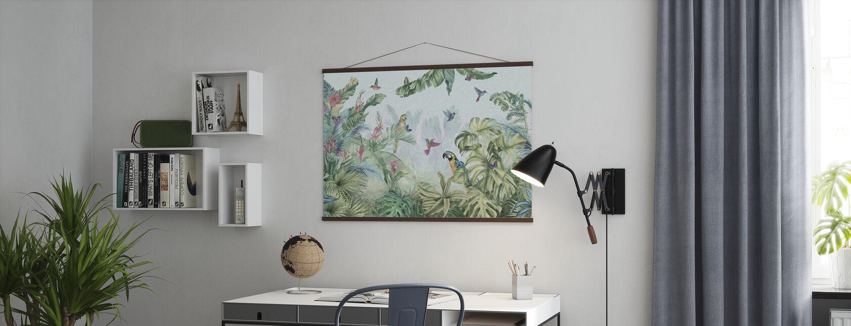Papukaijat Paratiisi - Juliste - Toimisto