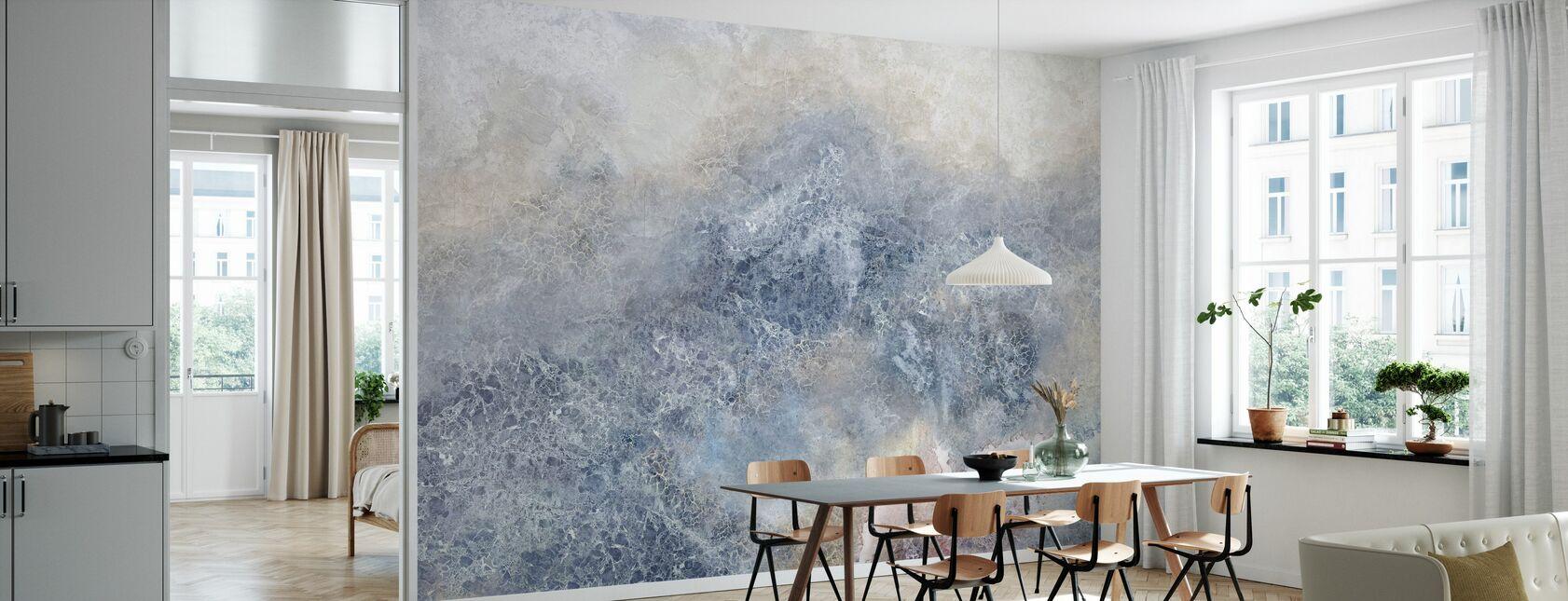 Chappy kolorowe ściany - Tapeta - Kuchnia