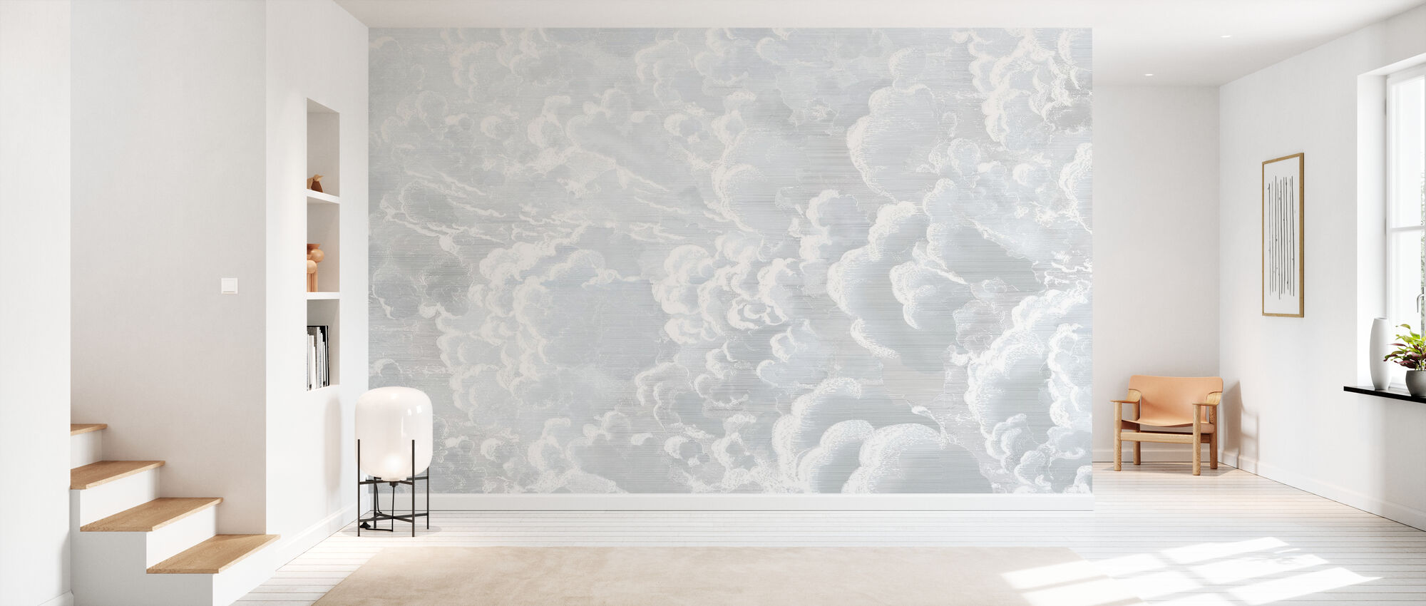 Cradled in Clouds - Wallpaper - Hallway