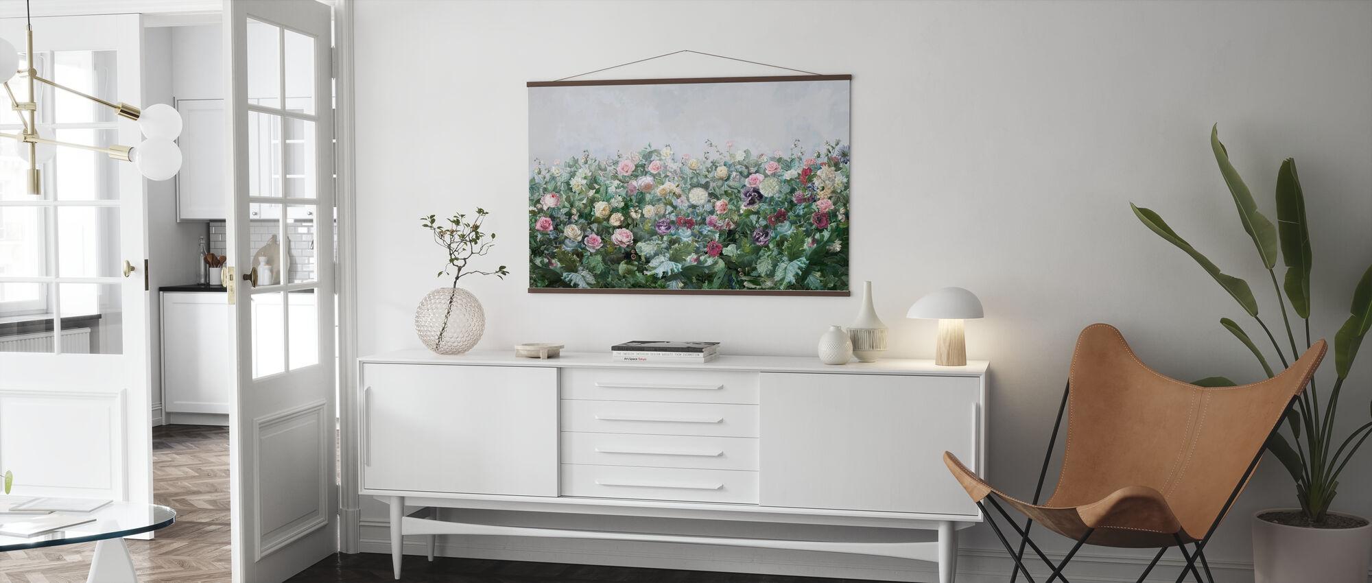 Blomma Potpourri - Poster - Vardagsrum