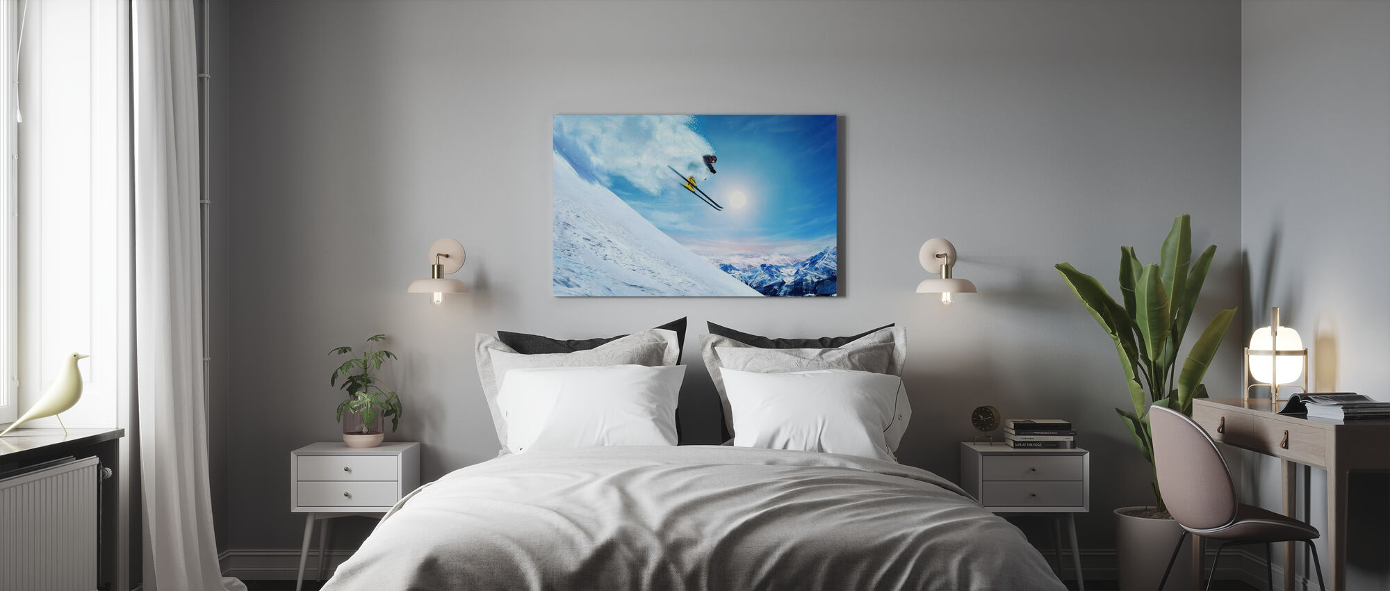 King of the Hill - Canvas print - Bedroom