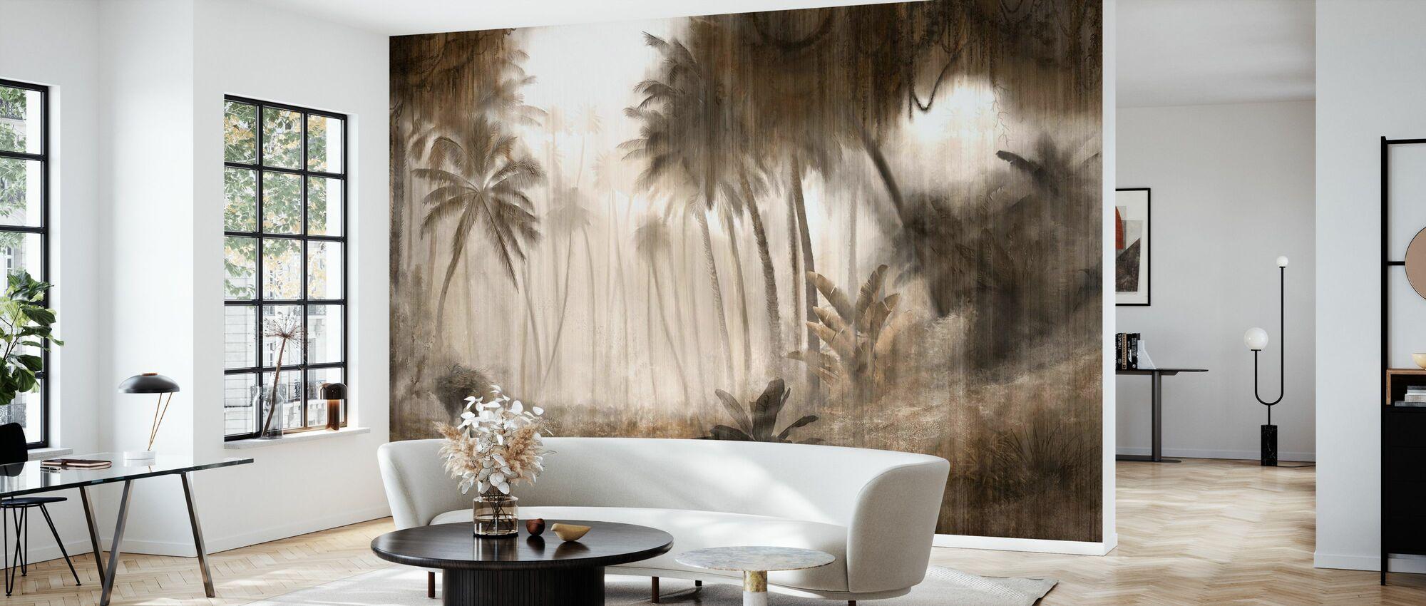 Definitive Tropical - Hazel - Wallpaper - Living Room