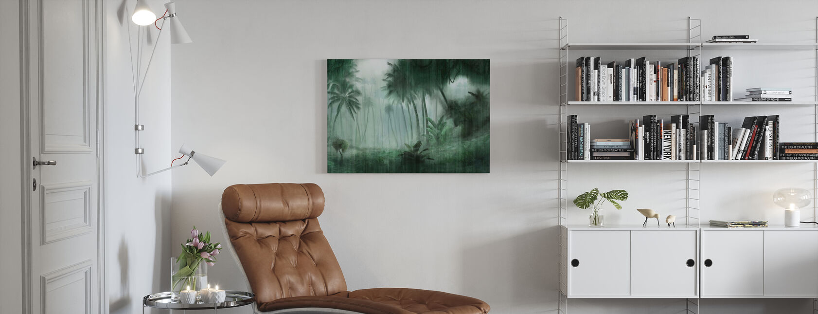 Definitive Tropical - Canvas print - Living Room