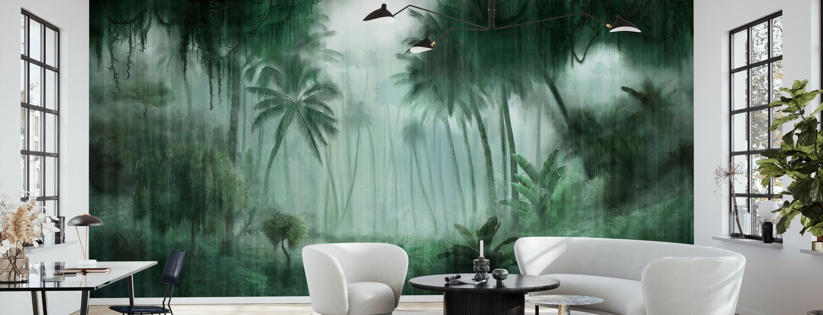 Definitive Tropical - Wallpaper - Living Room