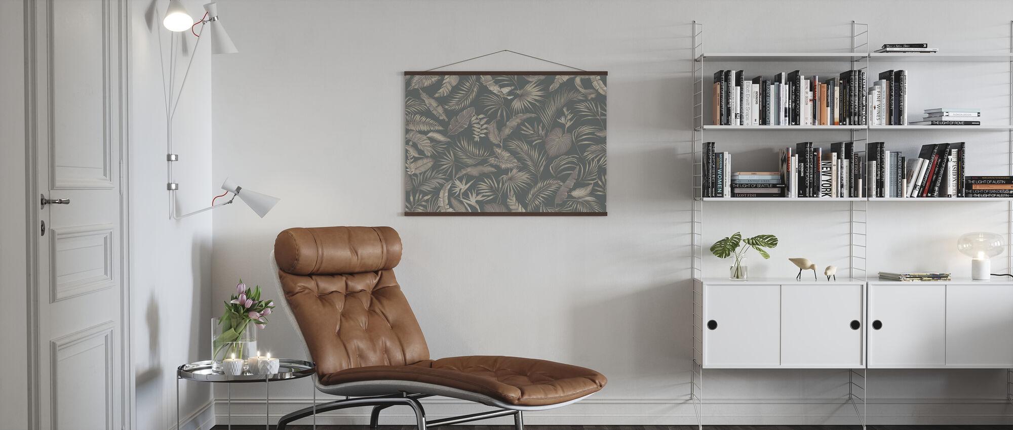 Living Amazonia - Green - Poster - Living Room