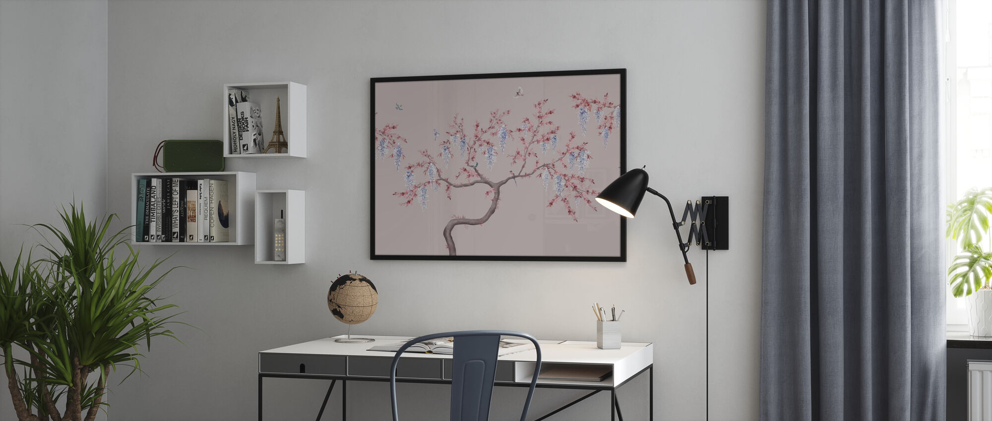 Ineffable Tree - Pink Blue - Poster - Office