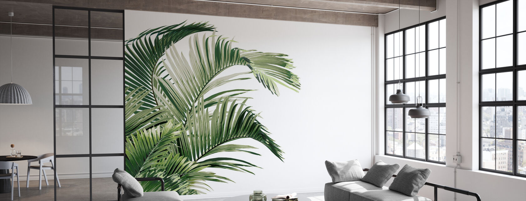 Piece of Paradise - Viridescent - Papier peint - Bureau