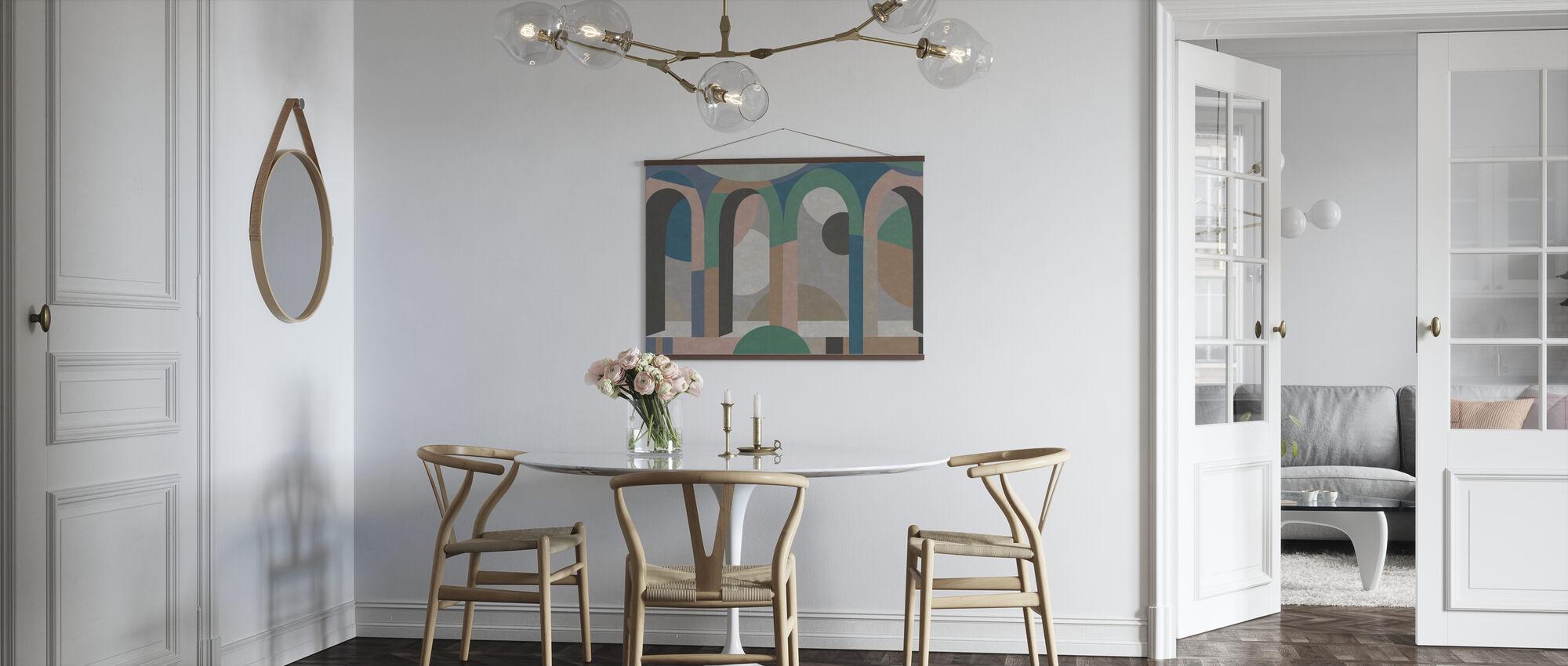 Bogenform - Poster - Küchen