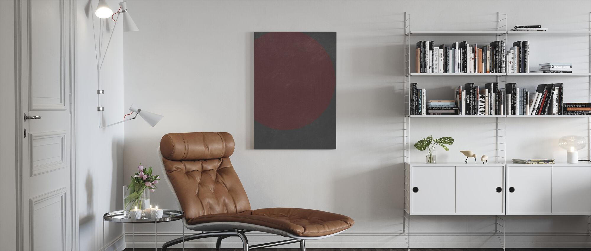 Circlu - Canvas print - Living Room