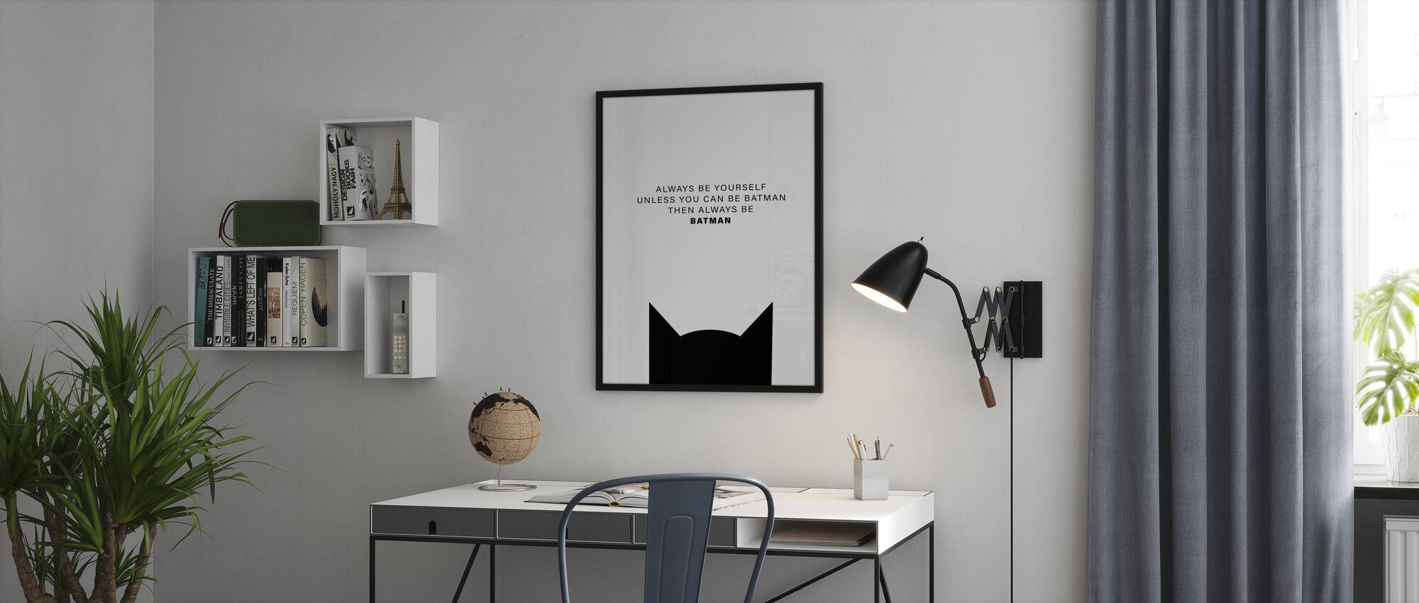 Batman. - Ja - Poster - Kantoor