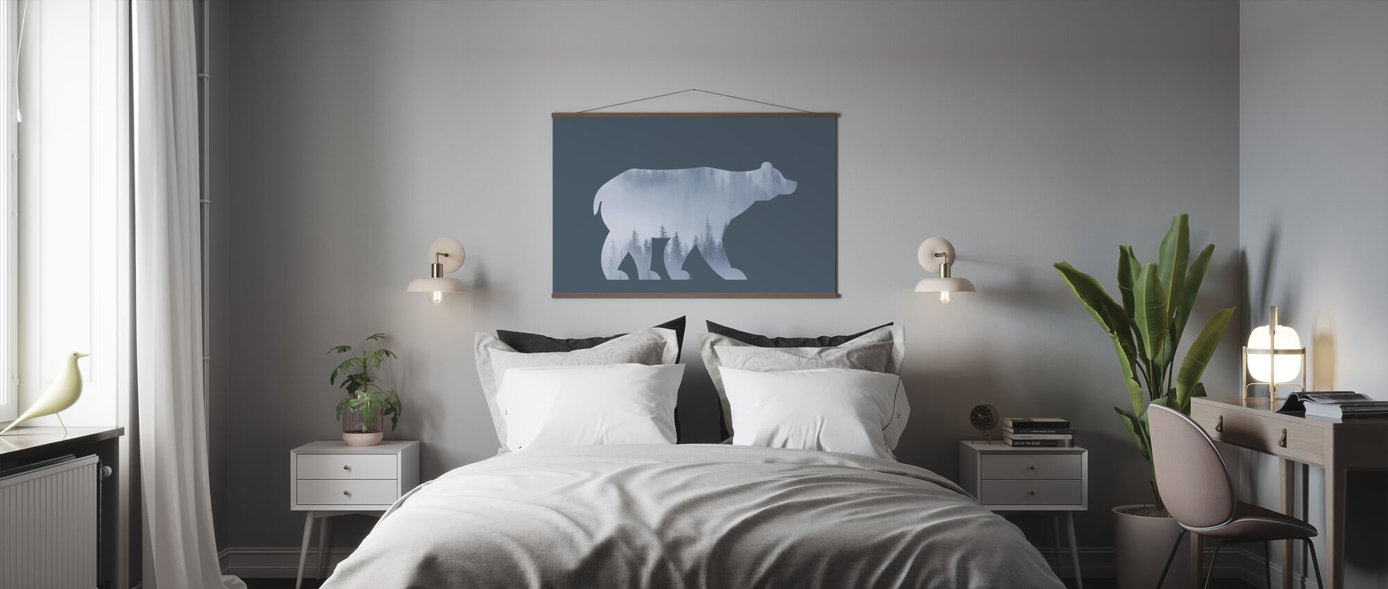 Bear Tree - Poster - Bedroom