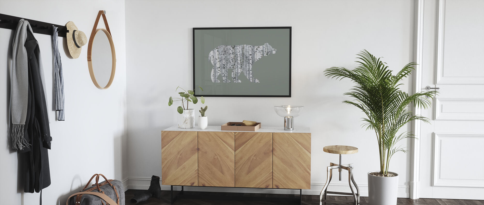 Bear Tree II - Poster - Hallway