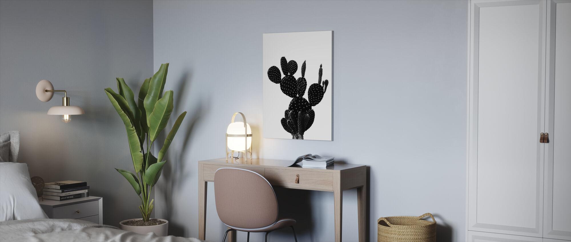 Musta Kaktus - Canvastaulu - Toimisto