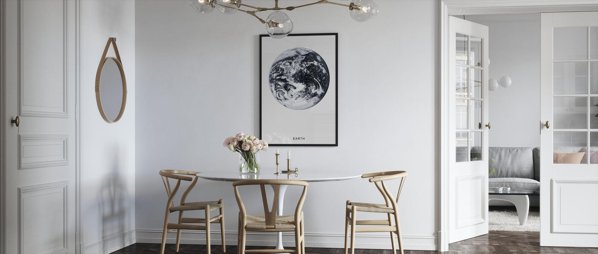 Maa - Kehystetty kuva - Keittiö