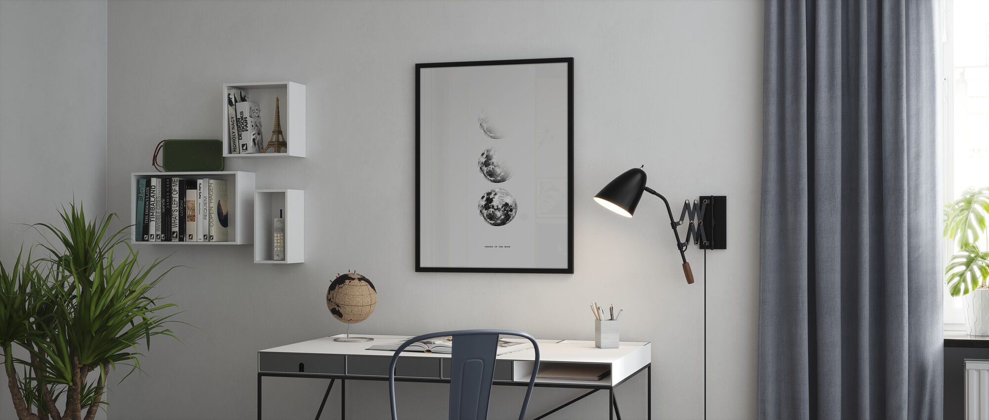 Phases of the Moon - Poster - Office