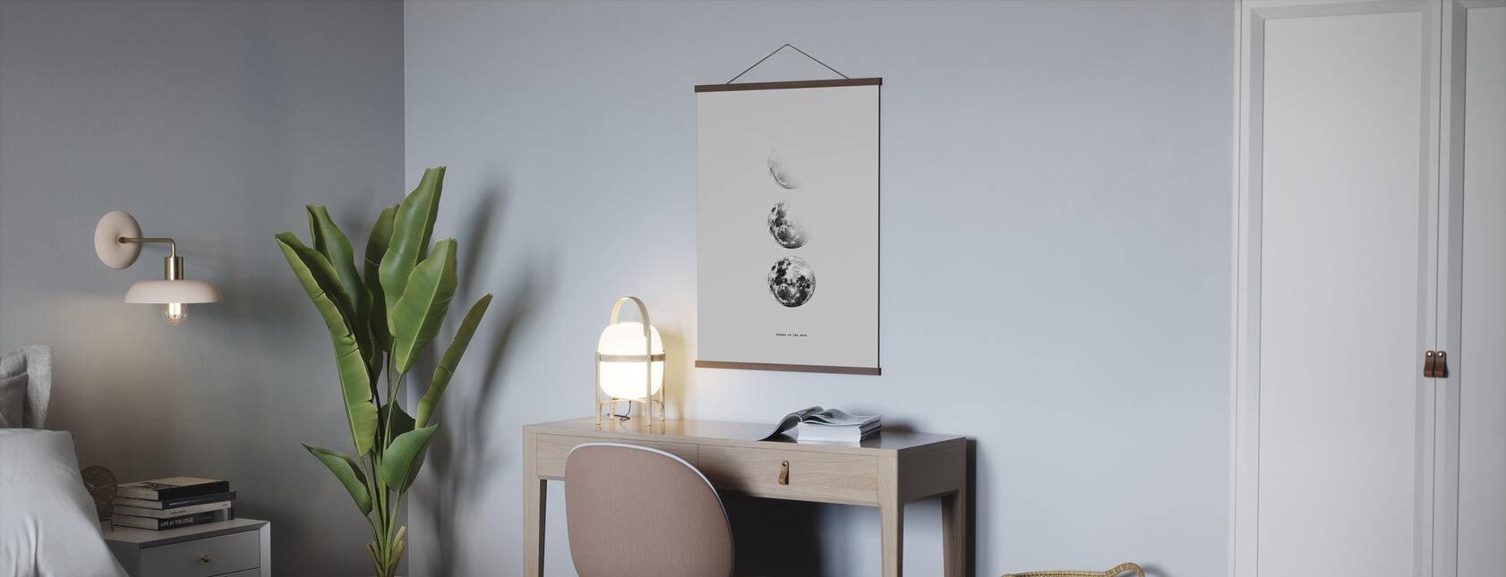 Fazy Księżyca - Plakat - Biuro