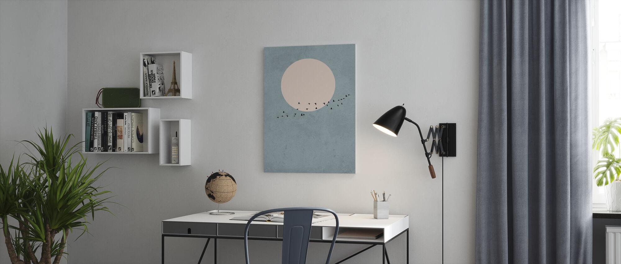 Moonbirds - Canvas print - Office