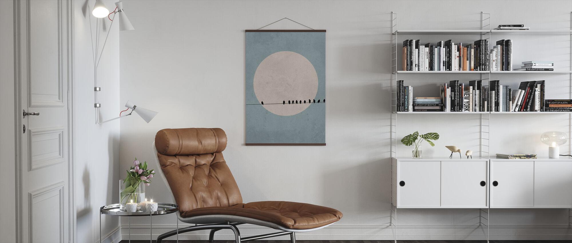 Moonbirds II - Poster - Living Room