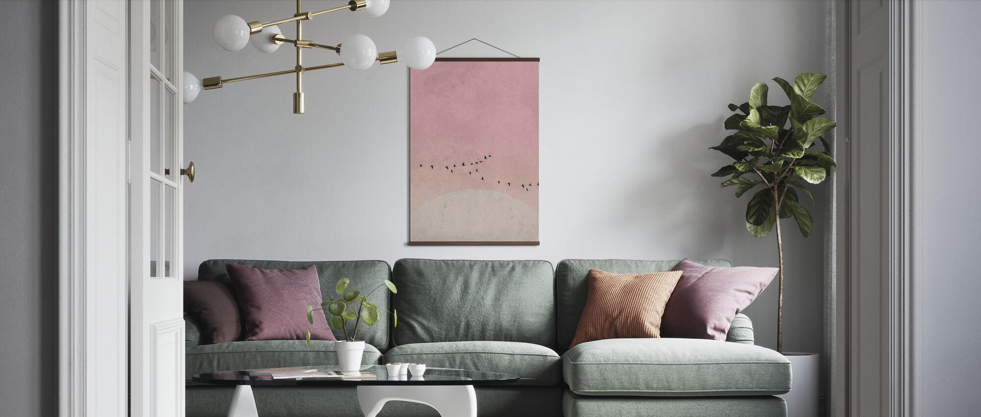 Moonbirds III - Poster - Living Room