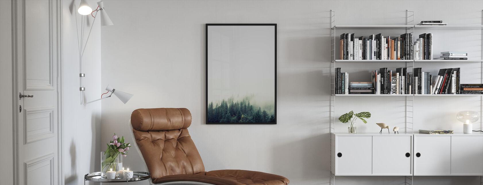 Trädtopp - Grön - Poster - Vardagsrum