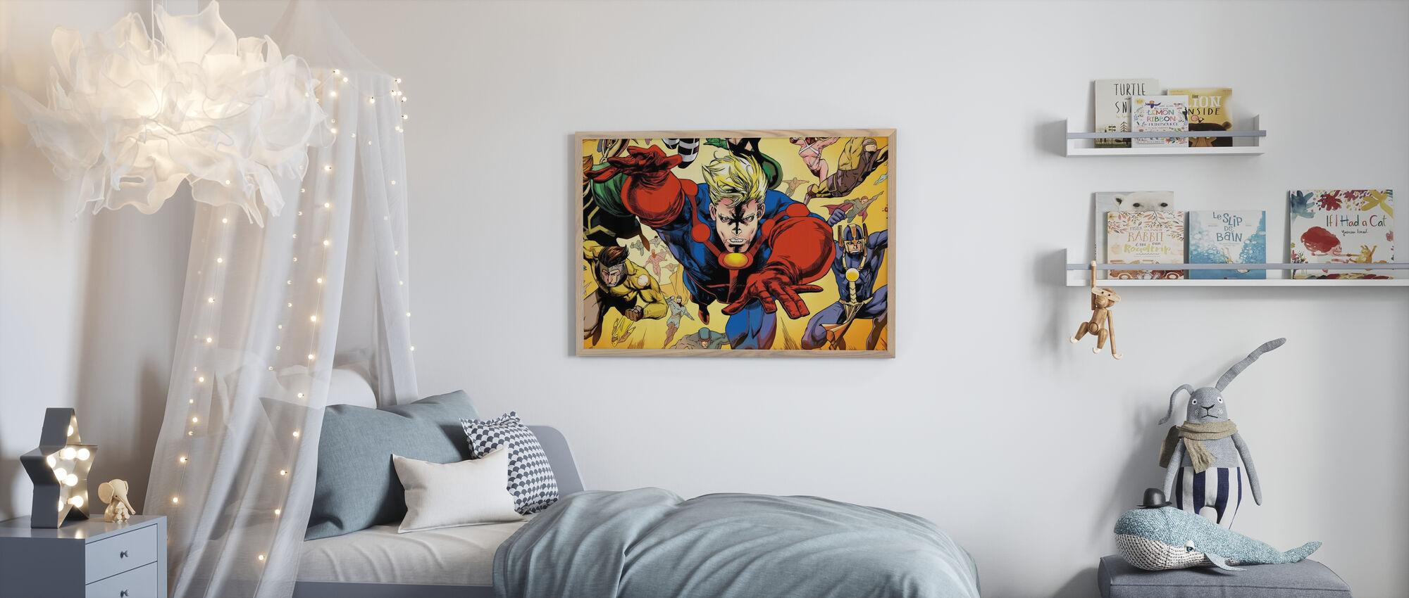 Superheros - Poster - Kids Room
