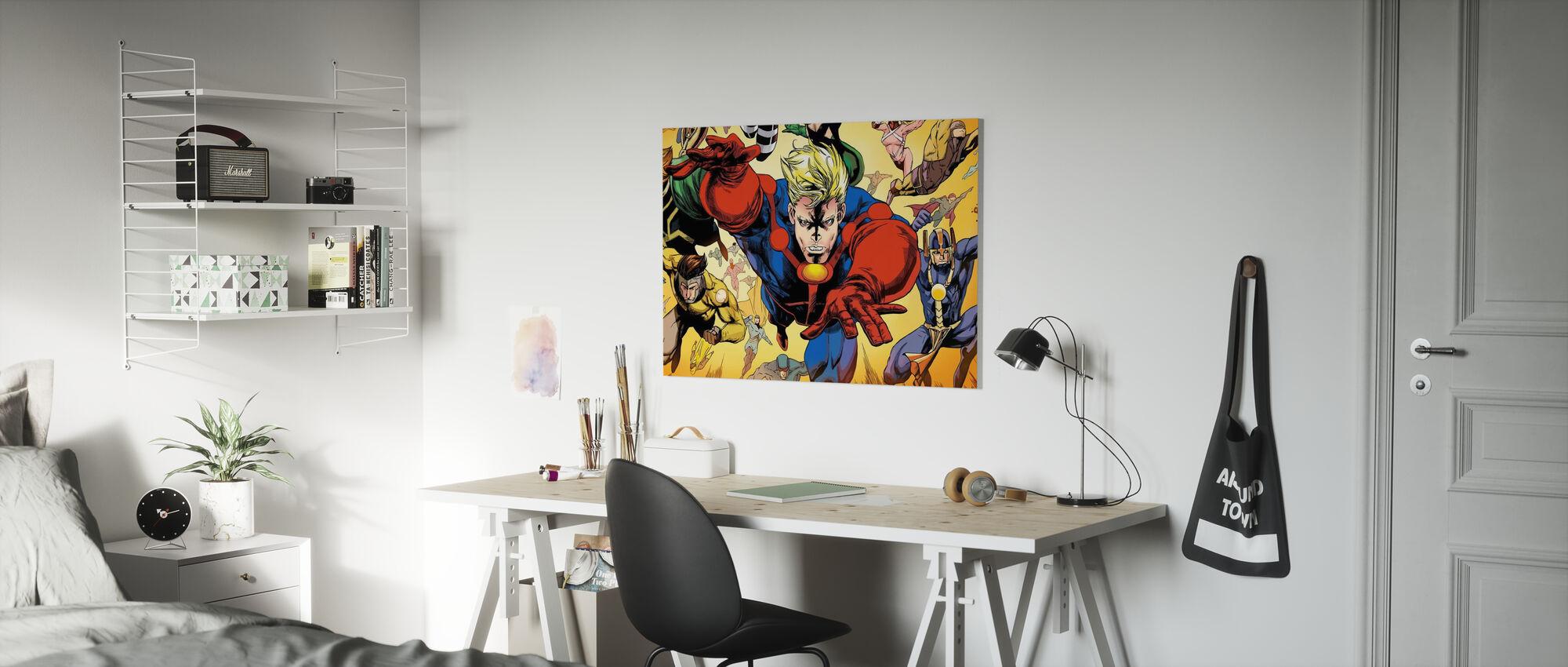 Superheros - Canvas print - Kids Room