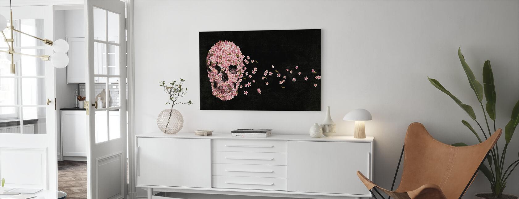 Vacker död - Canvastavla - Vardagsrum