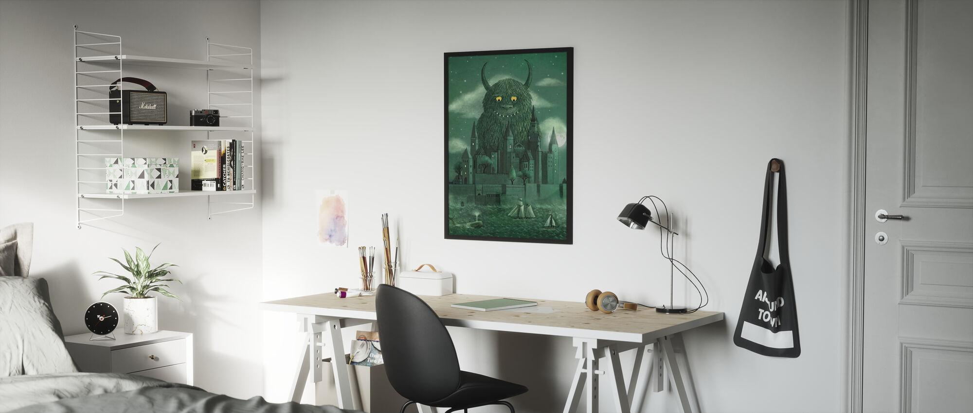 Age of the Giants - Framed print - Kids Room