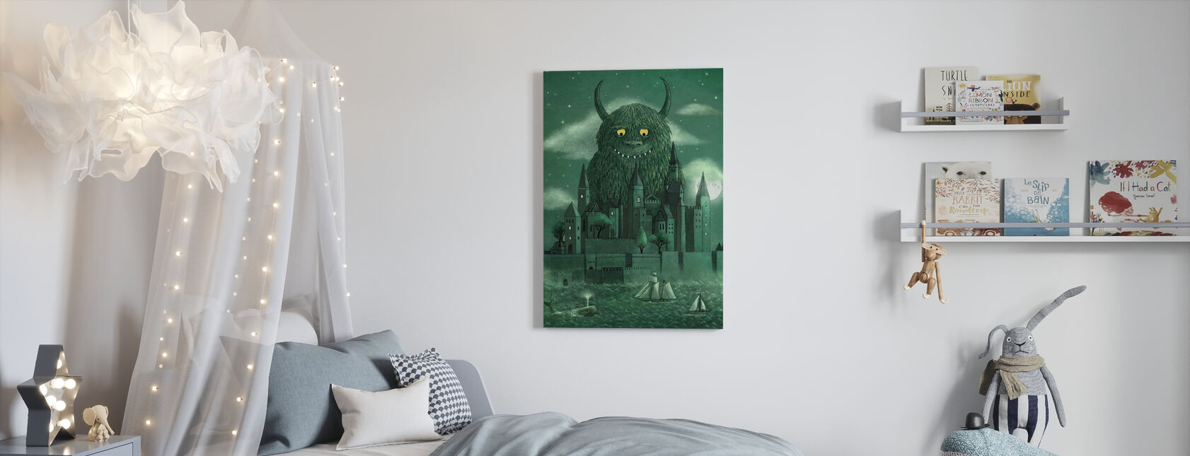 Age of the Giants - Canvas print - Kids Room
