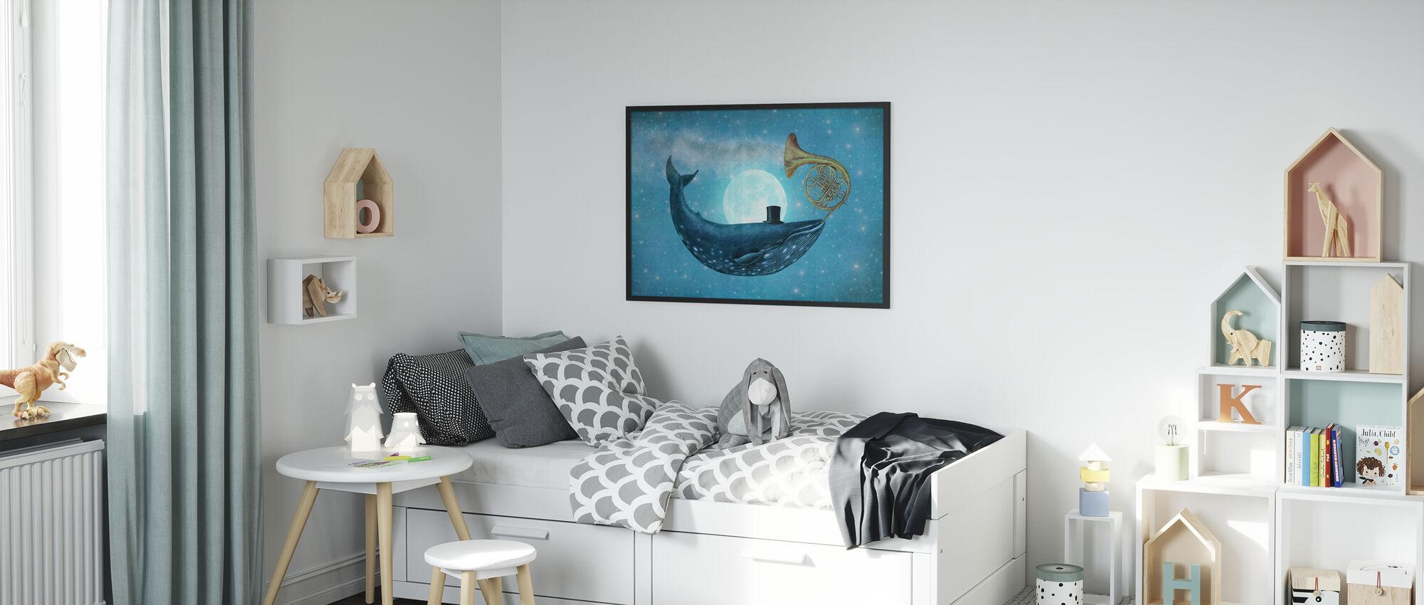 Cloud Maker-Landschaft - Poster - Kinderzimmer