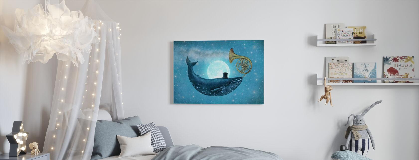 Cloud Maker landscape - Canvas print - Kids Room